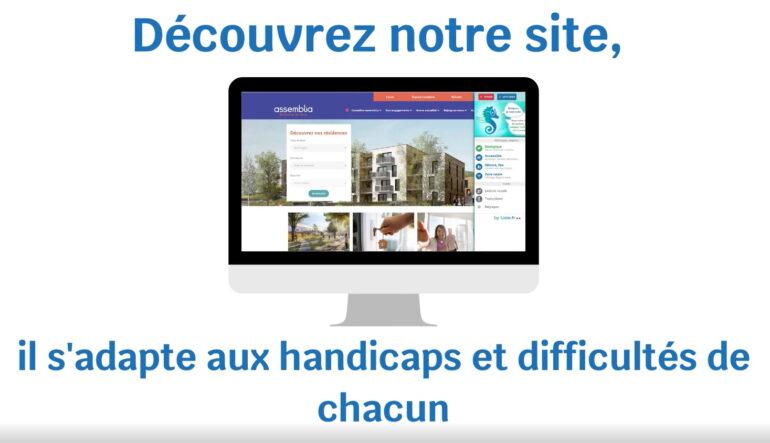 www.assemblia.fr évolue pour s'adapter aux personnes souffrant d'exclusion numérique
