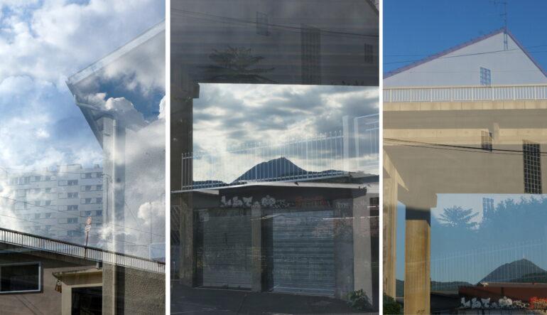 """Reprise des expos photos dans notre hall rue Buffon ! Découvrez """"VIADUC/VORTEX"""", une mise en lumière singulière et poétique sur le viaduc St-Jacques"""